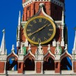 Chimes of Spasskaya tower of Moscow Kremlin — Stock Photo #23114672
