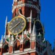 Close-up view of chimes of Spasskaya tower of Moscow Kremlin — Stock Photo #23114738