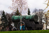 The Czar Cannon — Stock Photo