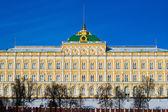 Grand Kremlin Palace In Wintertime — Stock Photo