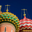 Royalty-Free Stock Photo: Domes Of The Vasily The Blessed Cathedra