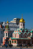 Cathedral of Our Lady of Kazan On Moscow Red Square — Stockfoto