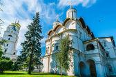 Kremlin tour 12: Church of the Twelve Apostles of Patriarch's Palace — Stock Photo