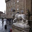 View of Piazza della Signoria - Stock Photo