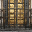 Particular of the door of the baptistery of San Giovanni Florenc - Stock Photo