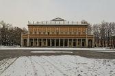 パノラマ ビュー レッジョエミリアの劇場 — ストック写真