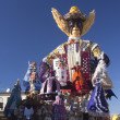 Stock Photo: VIAREGGIO, ITALY - FEBRUARY 2: allegorical float on the issue