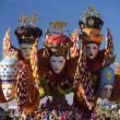 VIAREGGIO, ITALY - FEBRUARY 2: allegorical float about carniva — Stock Photo #20039357