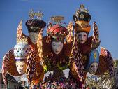 VIAREGGIO, ITALY - FEBRUARY 2: allegorical float about carniva — Stock Photo