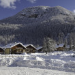 Winter in Pragelato — Stock Photo