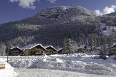 Winter in Pragelato — Foto Stock