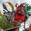 Stock Photo: VIAREGGIO, ITALY - FEBRUARY 20: allegorical float of exploitat