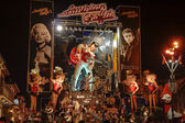 VIAREGGIO, ITALY - FEBRUARY 20: allegorical float of Elvis Pre — Stock Photo