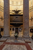 Tomb of the last king of Italy, Vittorio Emanuele II in the Pant — Stock Photo