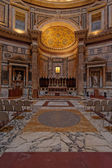 View of the Pantheon  church  Rome Italy — Stok fotoğraf