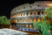 Night view of Colosseo — Foto Stock
