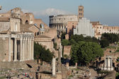 View of Foro Romano Rome — Foto de Stock