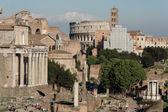View of Foro Romano Rome — Stock Photo