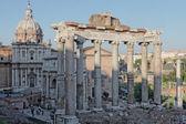 Vista do foro romano roma — Foto Stock