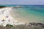 Beach near Villa Simius Sardinia Italy — Stock Photo