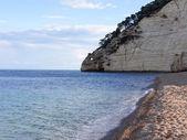 Landscapre на побережье гаргано апулии италии — Стоковое фото