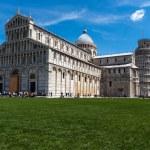 View of Piazza dei Miracoli Pisa — Stock Photo #49535411