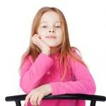 Portrait of little girl — Stock Photo #22173483