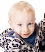 小さな男の子の肖像画 — ストック写真