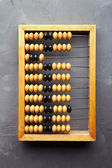 Accounting abacus — Stock Photo