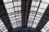 Ceiling in railway station — Stock Photo