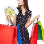 Happy shopping woman — Stock Photo #44254435
