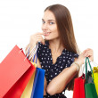 Happy shopping woman — Stock Photo #44254439