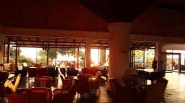 Restaurante hotel — Vídeo de stock