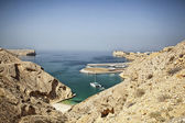 Oman coast landscape — Stock Photo