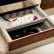 Kitchen drawers — Stock Photo