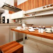 Stock Photo: Beautiful modern kitchen