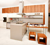 Modern kitchen — Stock Photo