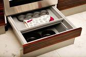 Kitchen drawers — Stock Photo
