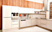 Modern kitchen design — Stock Photo