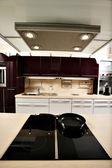 Beautifully designed kitchen — Stock Photo