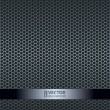 Silver metallic grid background — Stock vektor