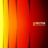 Abstract red, orange and yellow rectangle shapes background. — Stock Vector