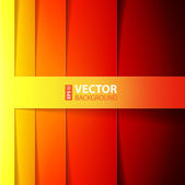 Abstract red, orange and yellow shining rectangle shapes background. — Stock Vector