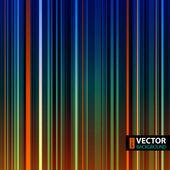 Retro kolorowe tło paski. — Wektor stockowy
