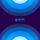 Абстрактный кругах фона — Cтоковый вектор