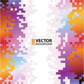 Abstract Vector Hintergrund mit grünen Papierschichten. — Stockvektor