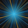 Abstract blue and yellow stripes burst background — Stock Photo #38929387