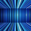 Stock Photo: Abstract blue warped stripes background