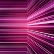 Stock Photo: Abstract purple warped stripes background