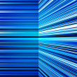 Stock Photo: Abstract warped blue stripes colorful background